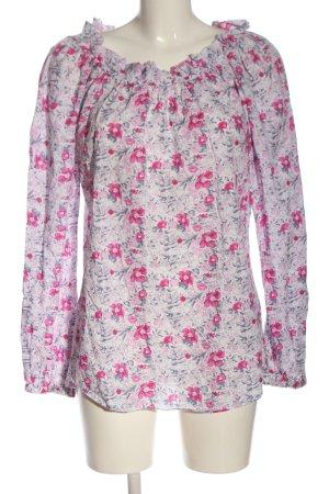 Aglini Carmen blouse volledige print casual uitstraling