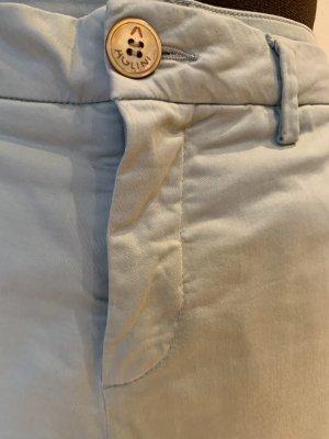 Aglini Pantalone chino verde-grigio-blu pallido
