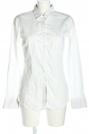 Aglini Blusa-camisa blanco estilo «business»