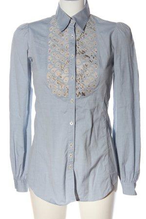 Aglini Camicia blusa multicolore stile casual