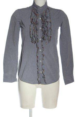 Aglini Camicia blusa grigio chiaro stile casual