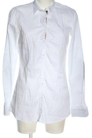 Aglini Camicia blusa bianco stile professionale