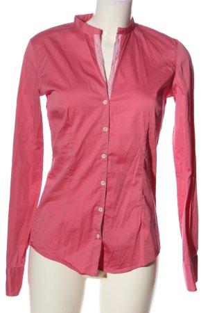Aglini Blusa-camisa rosa look casual