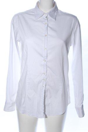 Aglini Blouse met lange mouwen wit zakelijke stijl