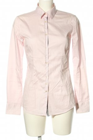 Aglini Langarm-Bluse pink Business-Look