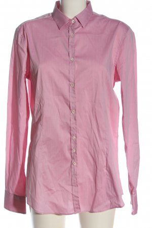 Aglini Shirt met lange mouwen roze zakelijke stijl