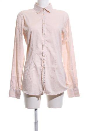 Aglini Camisa de manga larga crema estilo «business»