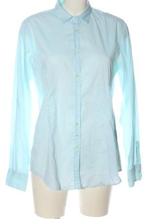 Aglini Langarmhemd blau Casual-Look