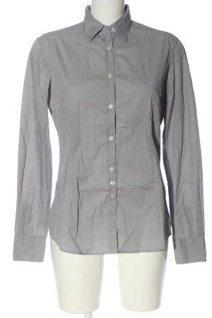 Aglini Long Sleeve Shirt light grey business style