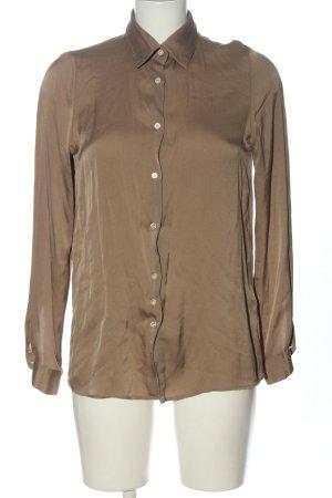 Aglini Long Sleeve Shirt brown casual look