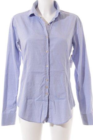 Aglini Camisa de manga larga azul claro estilo «business»