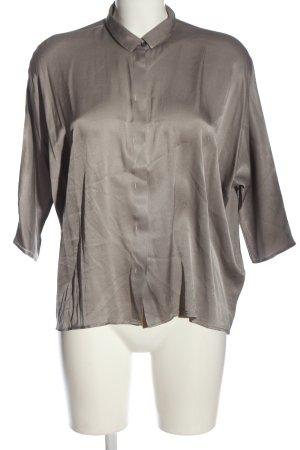 Aglini Camicia a maniche lunghe grigio chiaro stile casual