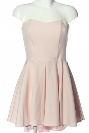 Agnes Vestido de cóctel crema elegante