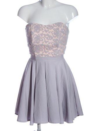 Agnes Cocktail Dress cream-light grey elegant