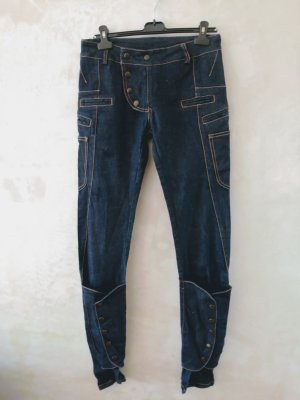 Agnese Narnicka Baggy jeans donkerblauw
