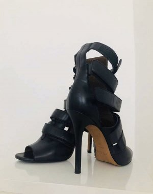 Agnona Platform Sandals black