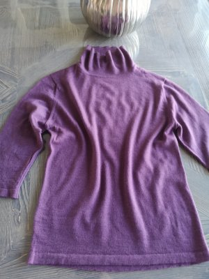 Agnona Short Sleeve Sweater grey violet
