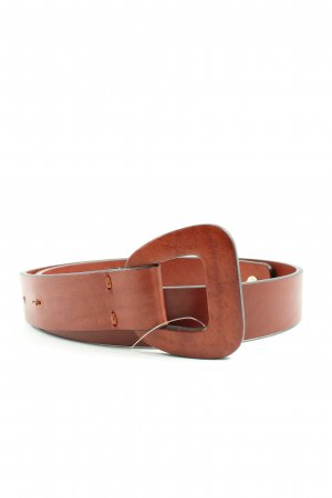 Agnona Leather Belt brown casual look