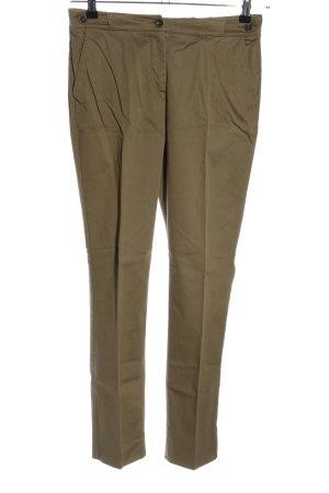 Agnona Pantalon en jersey kaki style décontracté