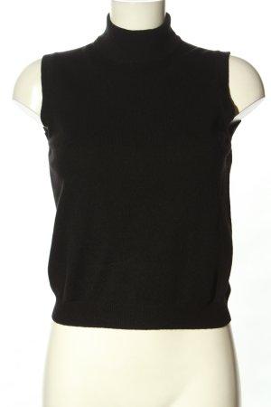 Agnona Top lavorato a maglia nero stile casual