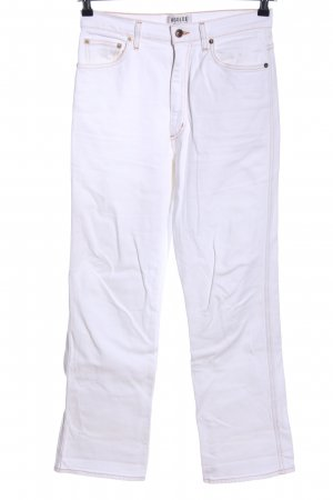 AGOLDE Boot Cut Jeans white casual look