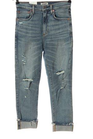 AGOLDE High Waist Jeans blau Casual-Look