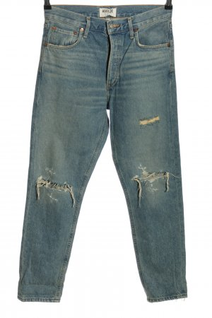 AGOLDE Hoge taille jeans blauw casual uitstraling