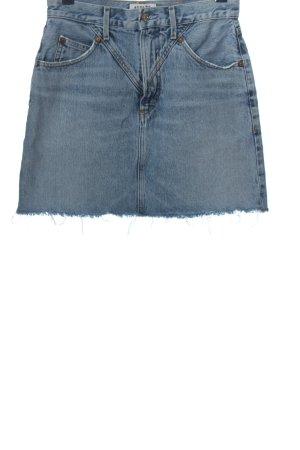 AGOLDE Jeansowa spódnica niebieski W stylu casual