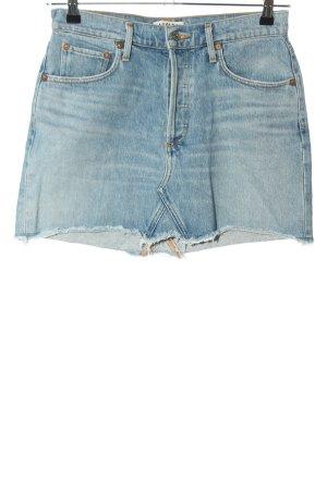 AGOLDE Jupe en jeans bleu style décontracté