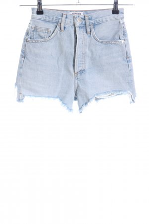 AGOLDE Jeansshorts blau Casual-Look