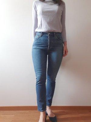 AGOLDE Jeans a vita alta multicolore