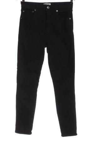 AGOLDE Jeans a sigaretta nero stile casual