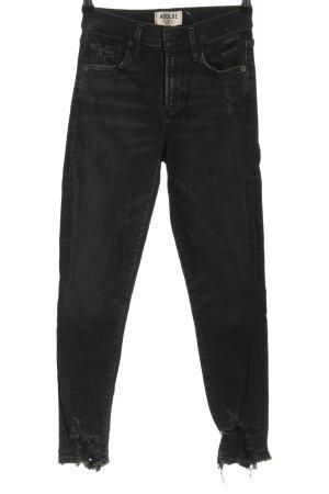 AGOLDE Skinny jeans zwart casual uitstraling