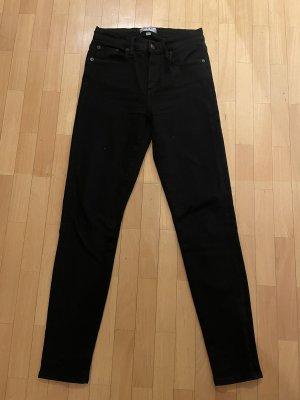 AGOLDE Tube jeans zwart