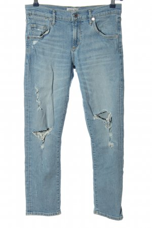 AGOLDE Jeans a gamba dritta blu stile casual