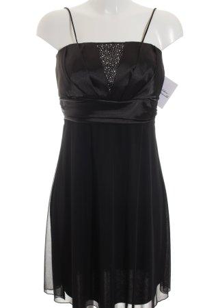 AHA-Fashion Robe de cocktail noir élégant