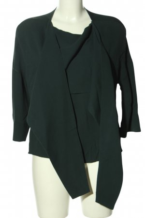 Ahlvar Gallery Blusa collo a cravatta verde stile casual