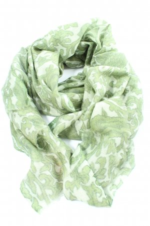 Ahmaddy Summer Scarf white-green graphic pattern casual look