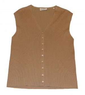 Aigner Fine Knitted Cardigan cognac-coloured cashmere