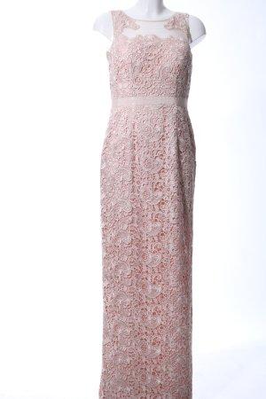 Aidan Mattox Abendkleid pink Blumenmuster Elegant
