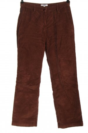 Aigle Corduroy Trousers brown casual look