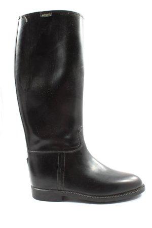 Aigle Gumowe buty czarny W stylu casual