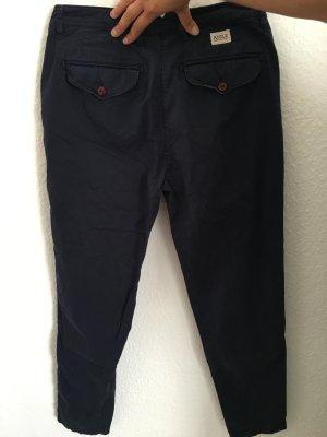 Aigle Spodnie materiałowe niebieski