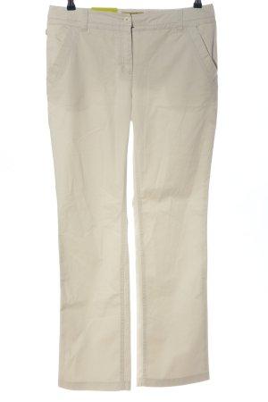 Aigle pantalón de cintura baja blanco look casual