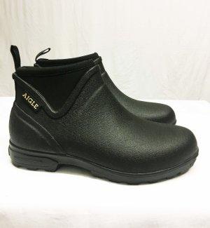 Aigle Gumowe buty czarny