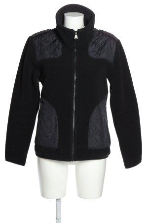 Aigle Kurtka outdoor czarny-jasnoszary W stylu casual