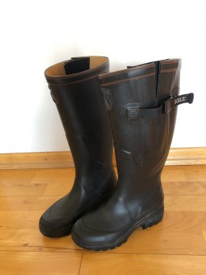 Aigle Wellies black