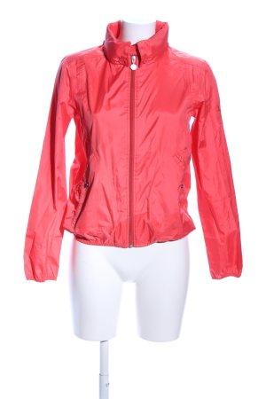 Aigle Raincoat red athletic style