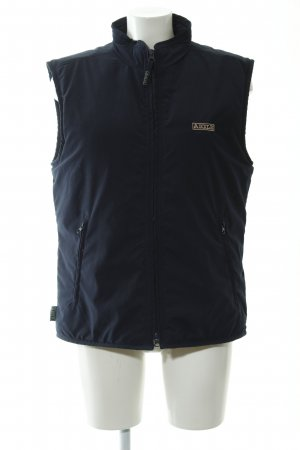 Aigle Sportvest donkerblauw-camel casual uitstraling