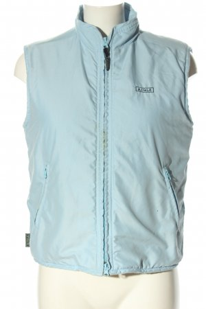 Aigle Quilted Gilet blue casual look